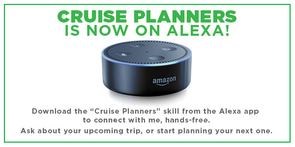 Cruise Planners is now on Alexa
